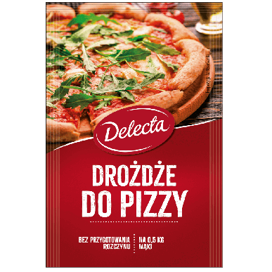 Delecta Drożdże do pizzy - 8g (60szt)